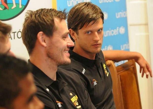Daniel Pliński i Michał Winiarski