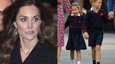 Księżna Kate i jej dzieci