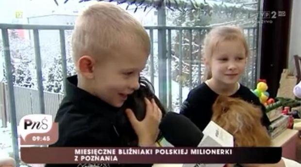Izabella Łukomska-Pyżalska pokazała dzieci