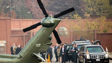 Prezydencka kolumna okolicy Seulu