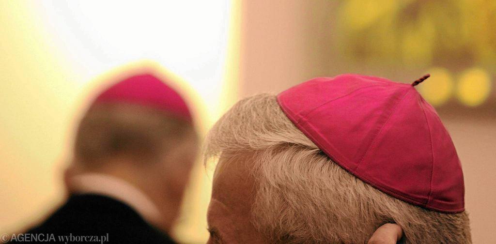 Biskupi podczas zebrania plenarnego Konferencji Episkopatu Polski