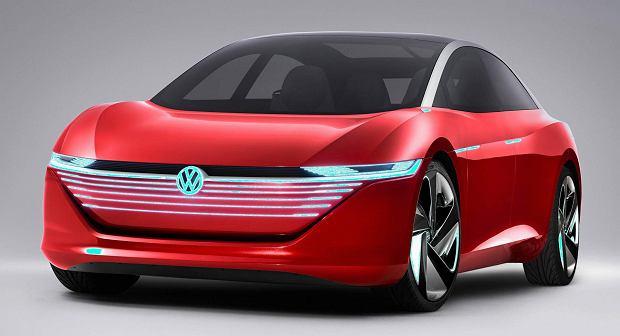 Studyjny Volkswagen ID. VIZZION z 2018 r.