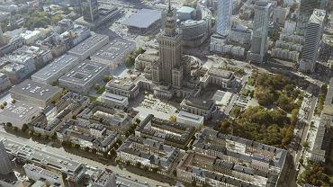 Wizualizacja otoczenia Pałacu