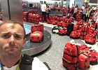 Rio 2016. Kuriozalna sytuacja na lotnisku. Wszyscy olimpijczycy dostali takie same torby