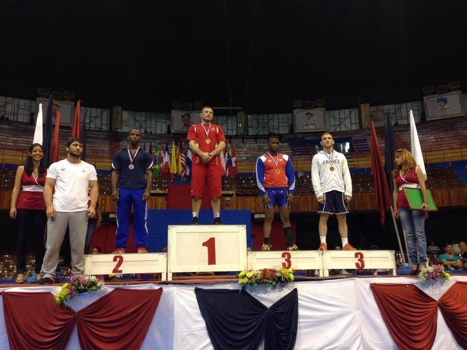 Krystian Brzozowski na najwyższym stopniu podium zawodów w Hawanie