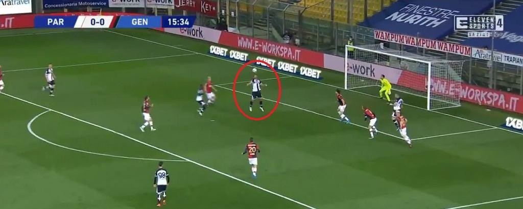 Cudowny gol przewrotką Graziano Pellego