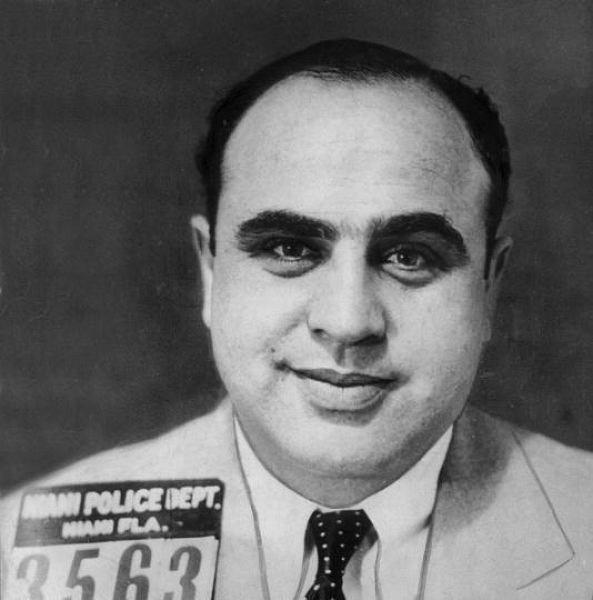 Al Capone w 1930 roku
