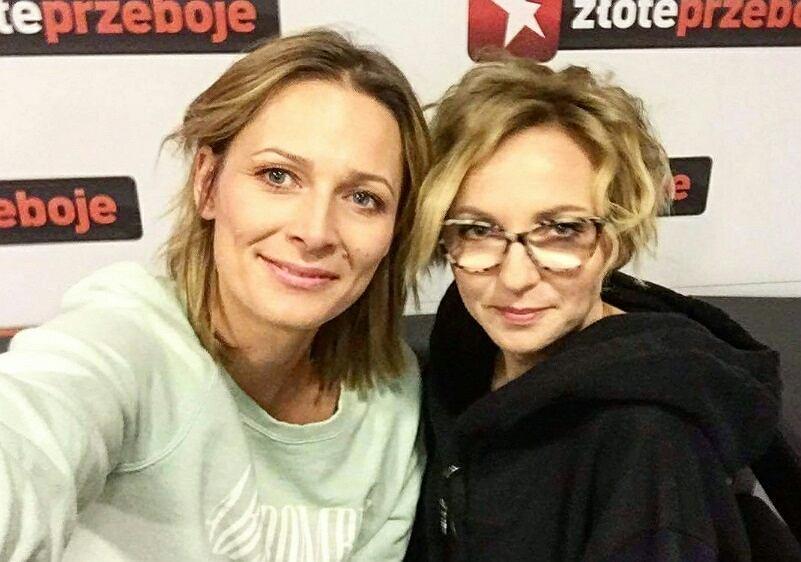 Odeta Moro i Ania Wyszkoni w programie 'Morowy Weekend'