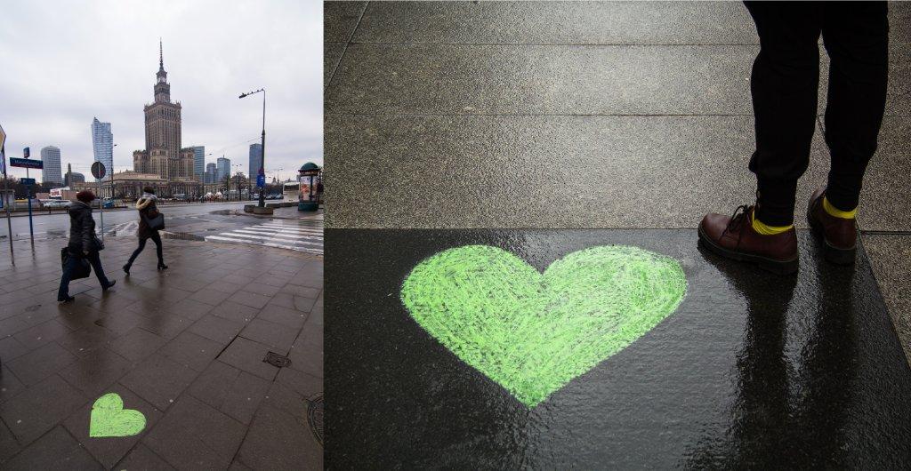 Walentynkowa Akcja CIWF Polska na ulicach Warszawy