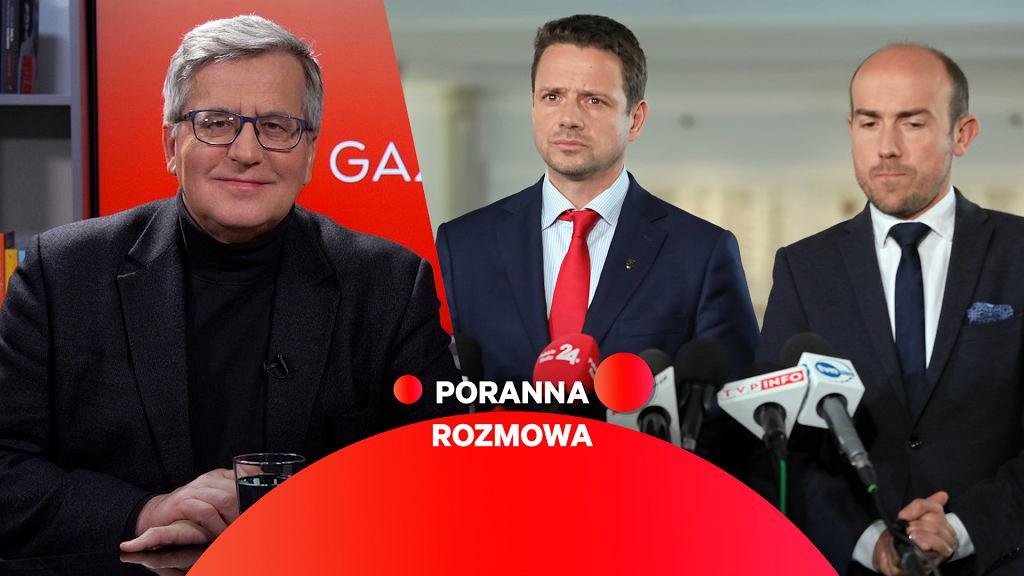 Był prezydent Bronisław Komorowski