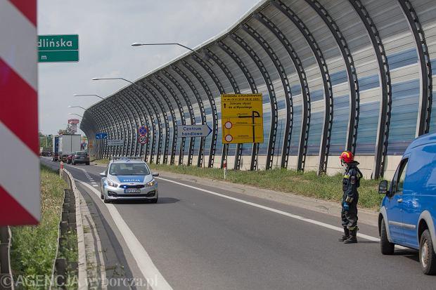 Odcinkowy pomiar prędkości w Warszawie. Na A1 OPP płonie, czas by kierowcy zwolnili na S8