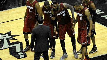 Pierwszy mecz finałów Spurs - Heat