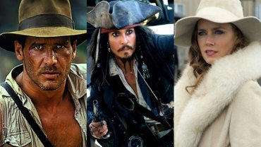 Harrison Ford, Johnny Depp, Amy Adams