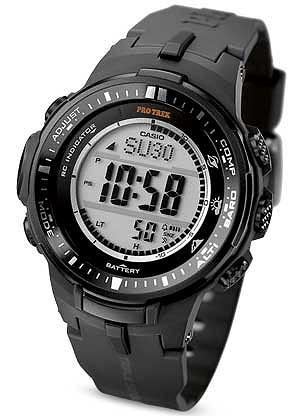 Zegarki: co nowego w 2013 roku, moda męska, zegarki, Zegarek z kolekcji Casio, PRO trek. Cena: 1290 zł
