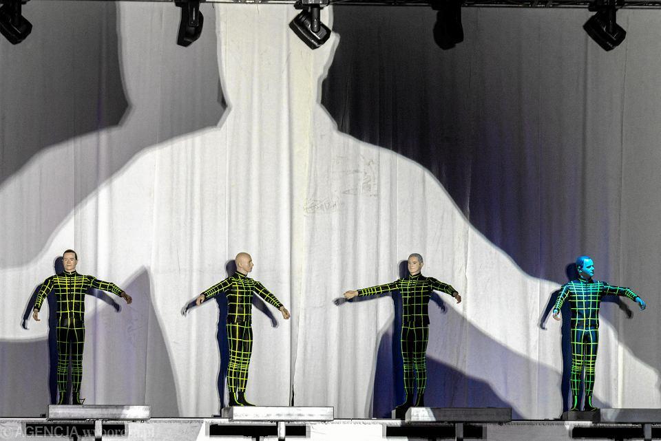 Kraftwerk podczas koncertu na Tauron Nowa Muzyka w Katowicach, 21.06.2019