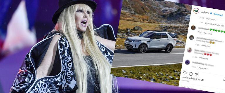 """Maryla Rodowicz ma nowy luksusowy samochód. """"W wyborze pomogli mi synowie"""""""