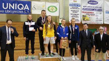 Alicja Czyżowicz na najwyższym stopniu podium