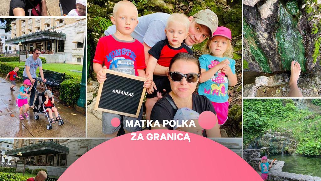 Julia z dziećmi i mężem, archiwum prywatne