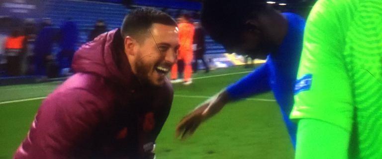 Kibice Real mogą być wściekli na swojego piłkarza. Hazard był w doskonałym humorze po meczu [WIDEO]
