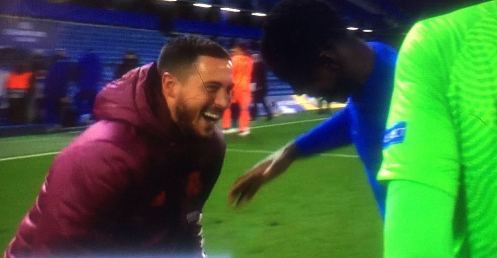 Hazard po meczu Chelsea - Real