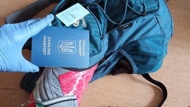 Skradziony plecak i dokumenty