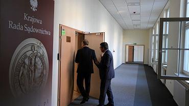Krajowa Rada Sadownictwa podczas przesłuchań kandydatów