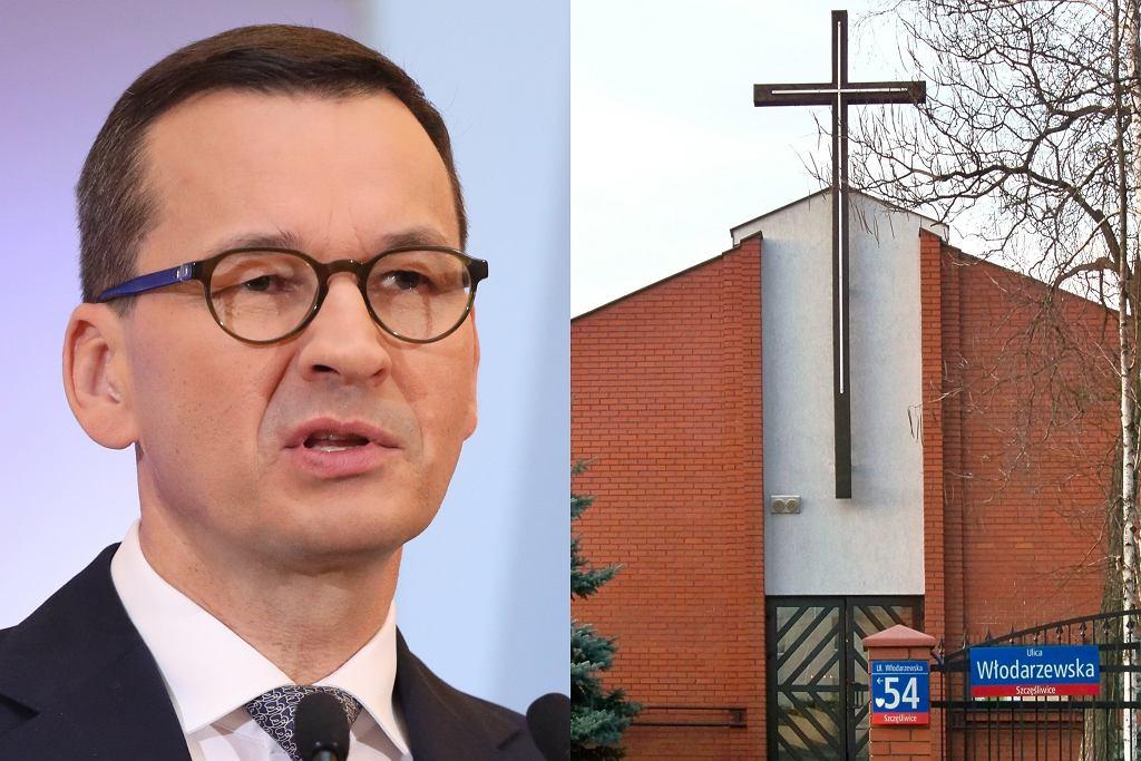 Mateusz Morawiecki/ Kościół pw. św. Grzegorza Wielkiego w Warszawie