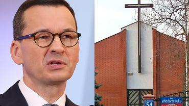 Premier Mateusz Morawiecki spóźnił się na komunię córki. Przez Nowy Polski Ład