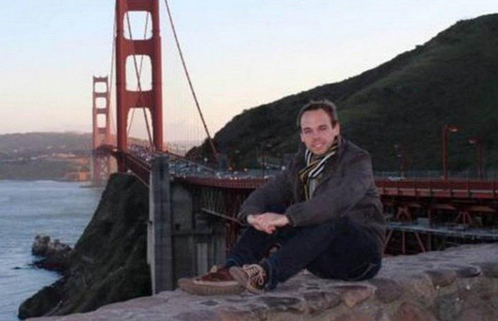 Andreas Lubitz, pilot samolotu linii Germanwings, który celowo doprowadził do katastrofy