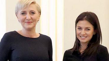 Agata Duda, Anna Lewandowska