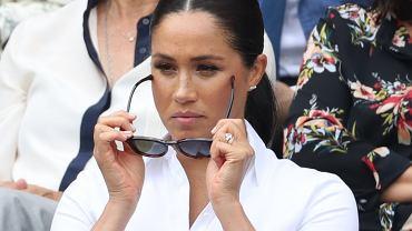 Brytyjska prasa ma już nowe przezwisko dla Meghan Markle. Wszystko przez jej zachowanie na Wimbledonie. Coś w tym jest