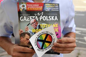 """Sąd zakazał dystrybucji homofobicznej naklejki """"Gazety Polskiej"""""""