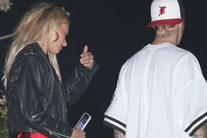 Hailey Bieber o krok od wpadki