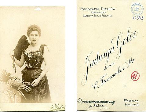 Pani Sieklucka, pacjentka Marii Jadwigi Strumff, lata 90. XIX w.