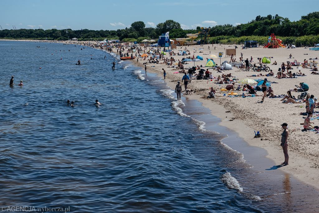 Plaża w Gdańsku // zdjęcie ilustracyjne