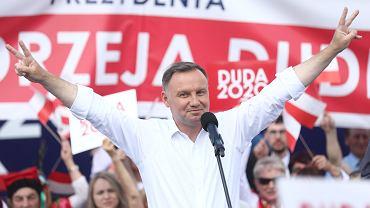 Prezydent Andrzej Duda w Olkuszu