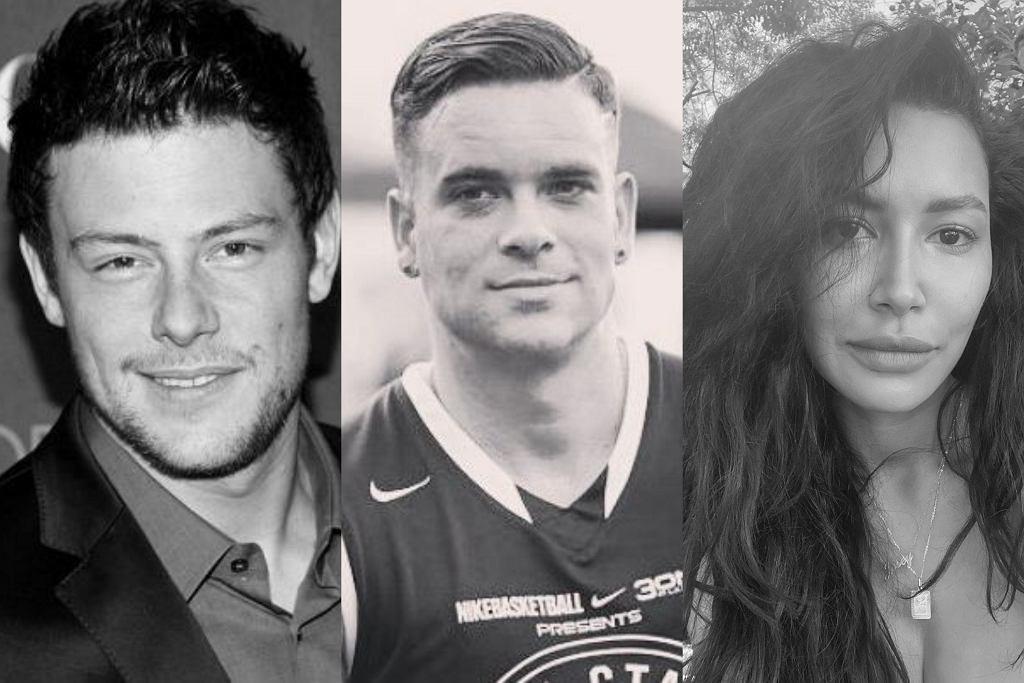 Cory Monteith, Mark Salling, Naya Rivera