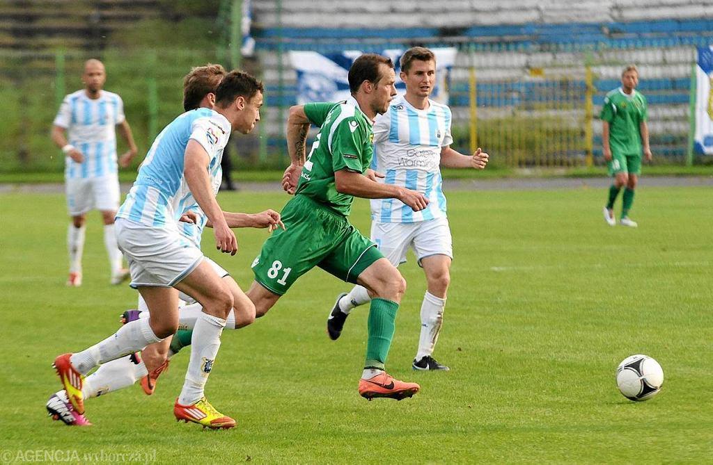 Olsztyn. Stomil - GKS Katowice 0:0 (czerwiec 2013 r.)