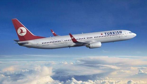 Samolot linii Turkish Airlines