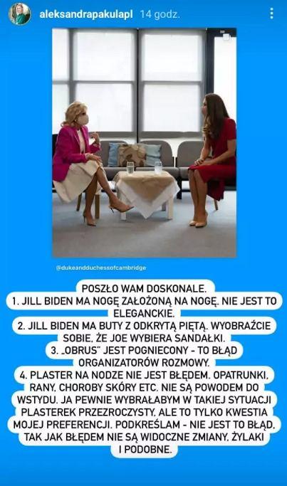 Ekspertka od etykiety oceniła Jill Biden