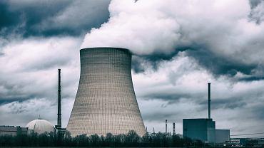 Niemcy. Elektrownia jądrowa.