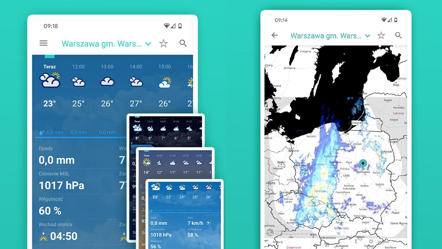 Chcesz wiedzieć, jaka jest pogoda i gdzie jest burza? IMGW przygotowuje specjalną aplikację | Technologie na Next Gazeta
