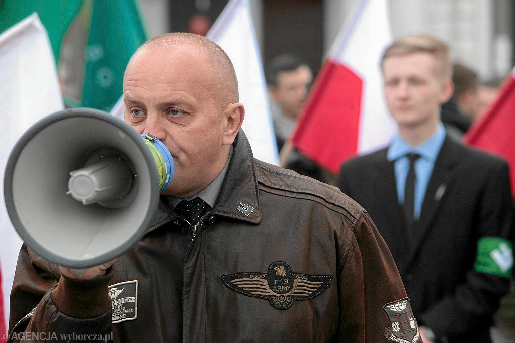Kandydat Ruchu Narodowego na prezydenta Marian Kowalski