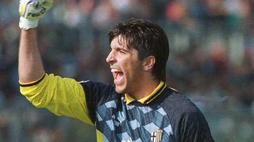 Gianluigi Buffon w Parmie.