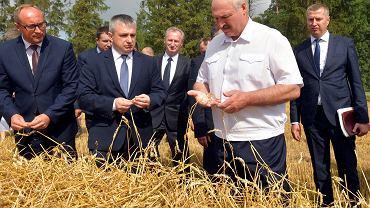Aleksander Łukaszenka z gospodarską wizytą pod Nieświeżem