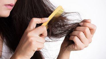 Włosy zrobiły się cienkie i rzadkie? Oto możliwe przyczyny i porady, jak je wzmocnić (zdjęcie ilustracyjne)
