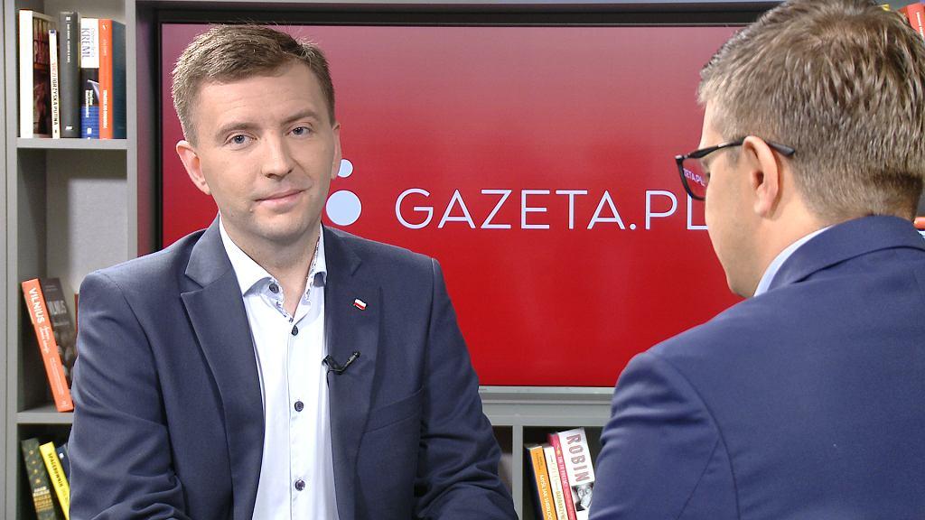 Łukasz Schreiber w Gazeta.pl