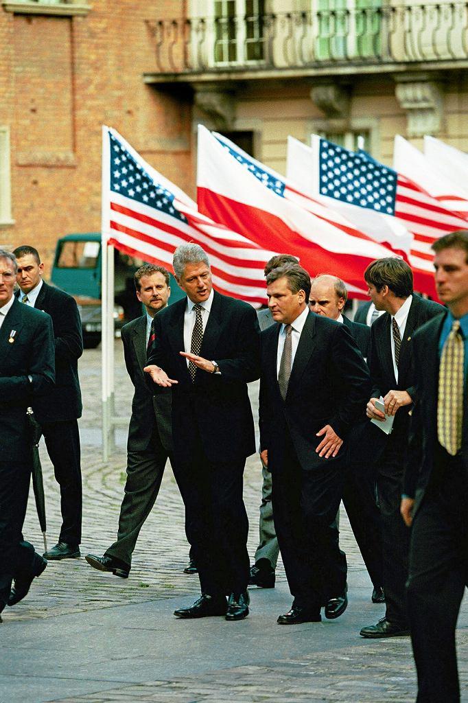 Bill Clinton w Polsce, 10-11 lipca 1997