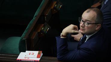 11.09.2019, Adam Bodnar oczekuje na rozpoczęcie sprawozdania.