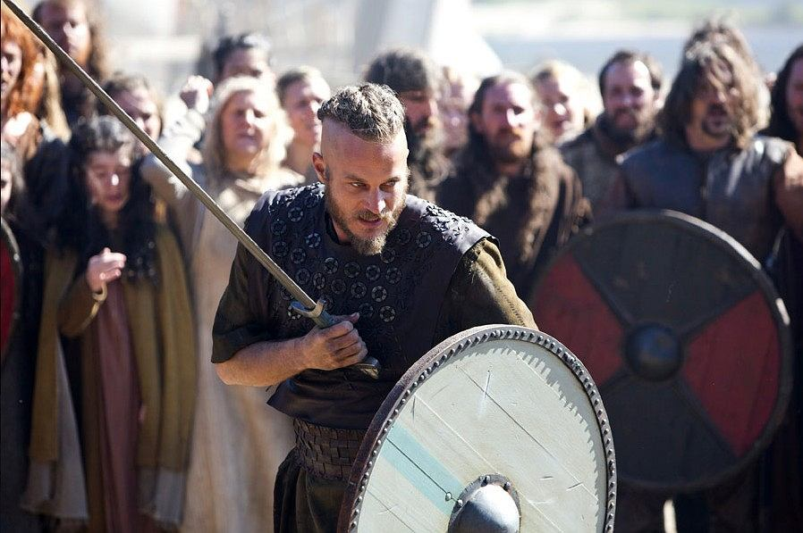 Kadr z serialu 'Wikingowie'